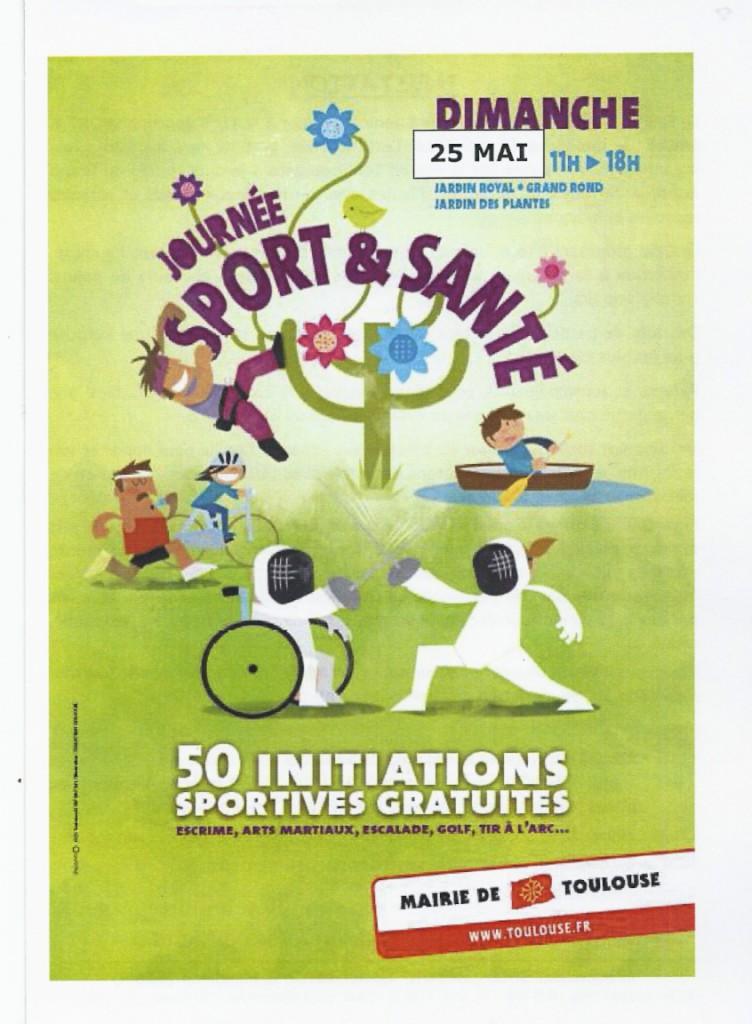 carte invitation journee sportive